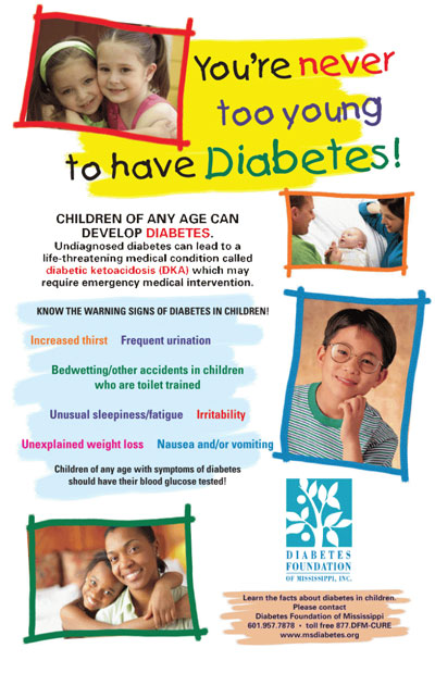 You're never too young to get diabetes
